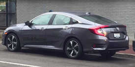 2016 Honda Civic Sedan Spied