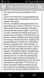 Highlight for album: 2016 Honda Civic