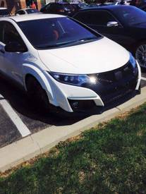 Highlight for album: 2016 Civic Type R Spotted