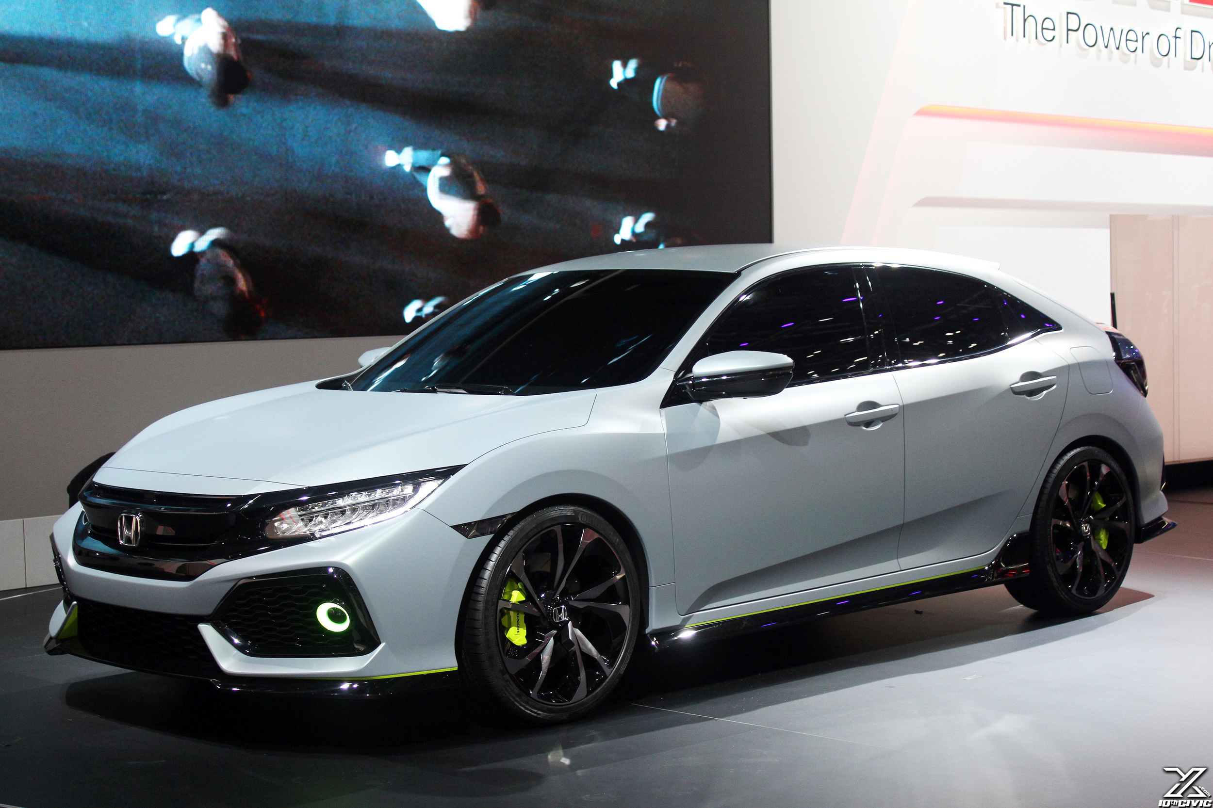 2017 Honda Civic Hatchback Spotted | 9th Generation Honda Civic Forum