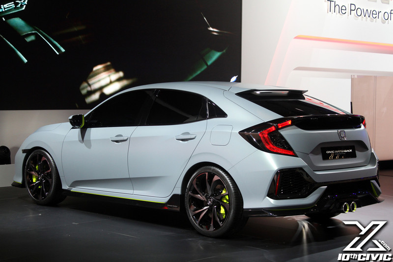2017 Civic Hatchback Prototype Geneva