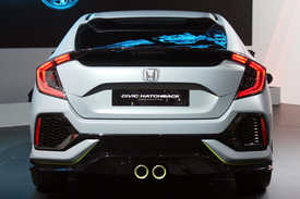 2017 Civic Hatchback Prototype Geneva